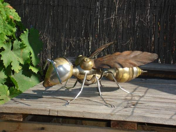 Recycled Wasp 1 • Recycled Art