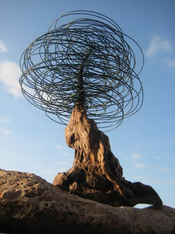 Cable Tree... 1 • Recycled Art