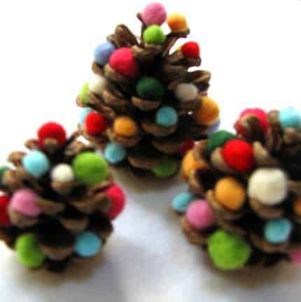 Diy Pine Cone Christmas Tree 1 • Do-It-Yourself Ideas