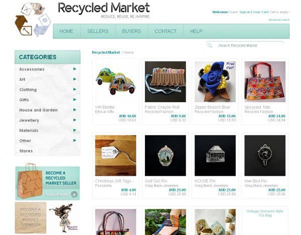 Recycled Market 2 • Interactive, Happening & Street Art