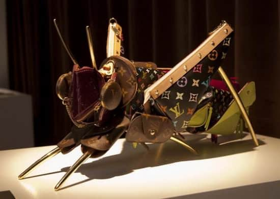 Leather Menagerie For Louis Vuitton Clothing Recycled Art