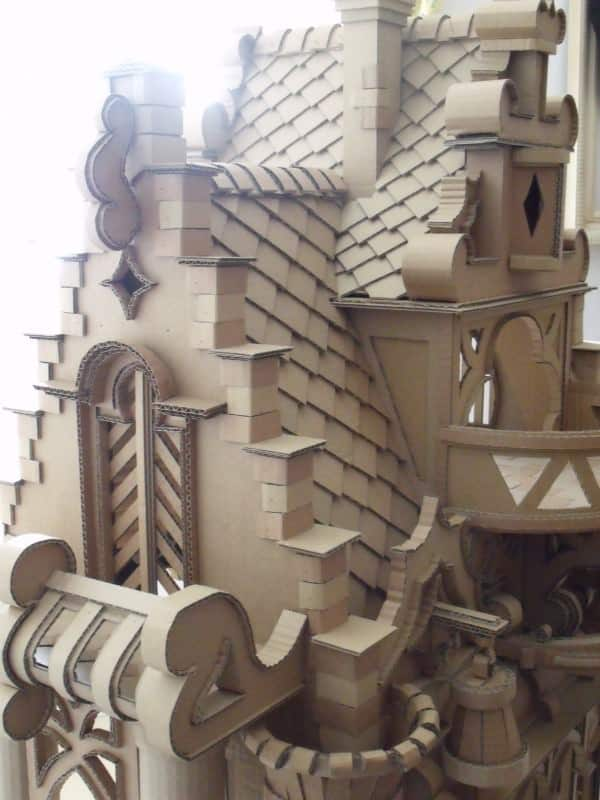 Cardboard Castle 3 • Do-It-Yourself Ideas