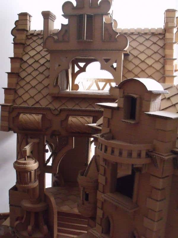 Cardboard Castle 1 • Do-It-Yourself Ideas