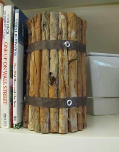 wood-votive