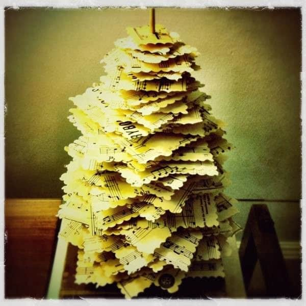 "Diy: Make A Paper Pine Tree"" From Upcycled Materials 1 • Do-It-Yourself Ideas"