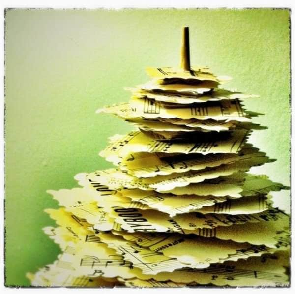 "Diy: Make A Paper Pine Tree"" From Upcycled Materials 5 • Do-It-Yourself Ideas"