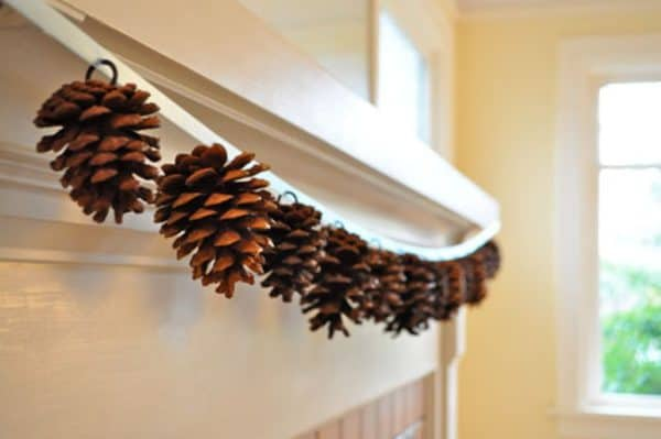 Diy: Pine Cones Garland 1 • Do-It-Yourself Ideas
