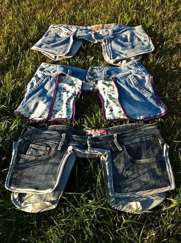 Old Jeans as a Saddlebags 3 • Clothing