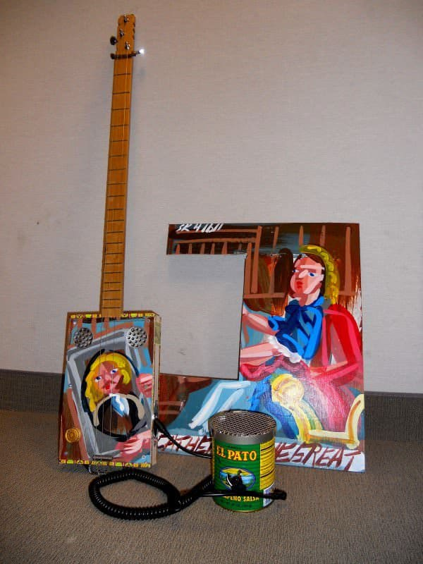 Hot Sauce Guitar Amp 1 • Recycled Electronic Waste