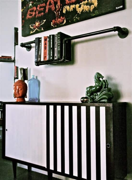 Plumber Bookshelves 4 • Recycled Furniture