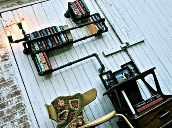 Plumber Bookshelves 3 • Recycled Furniture