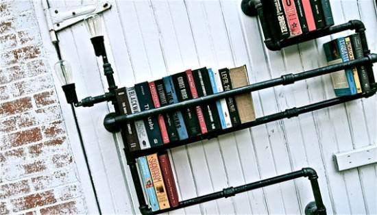 Plumber Bookshelves 2 • Recycled Furniture