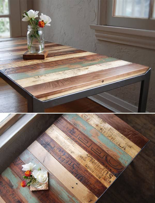 Changeable Reclaimed Table1