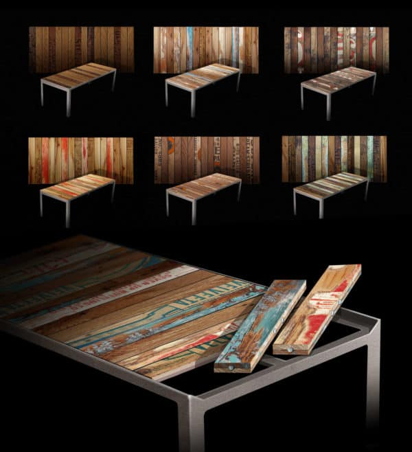 Changeable Reclaimed Table3