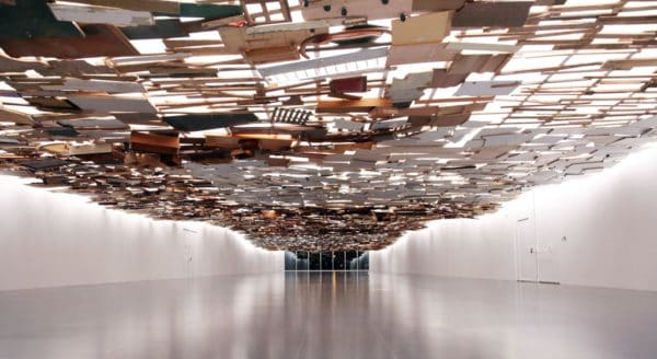 Under the Water by Tadashi Kawamata 5 • Recycled Art