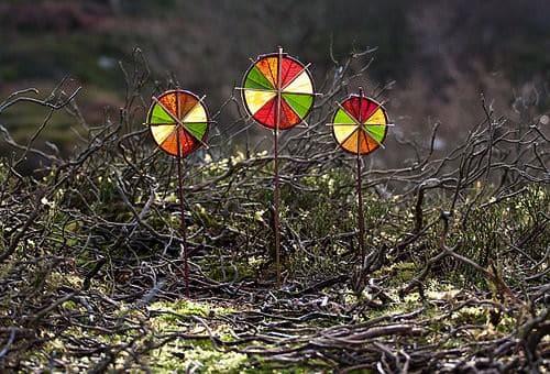 3 Winter Sun Wheels 1 • Interactive, Happening & Street Art