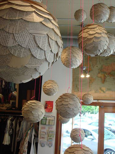 Paper Globes 1 • Do-It-Yourself Ideas