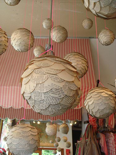 Paper Globes 2 • Do-It-Yourself Ideas