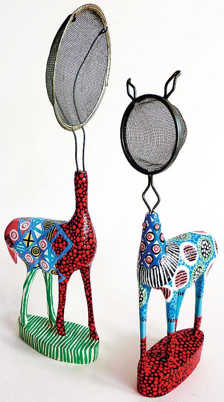 Domesticated Does 2 • Recycled Art