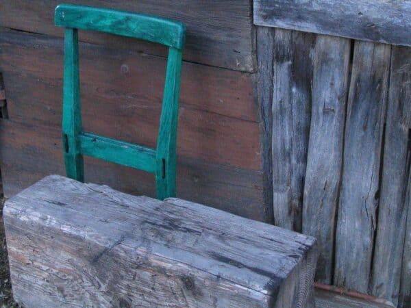 Lumber Chair 3 • Recycled Furniture