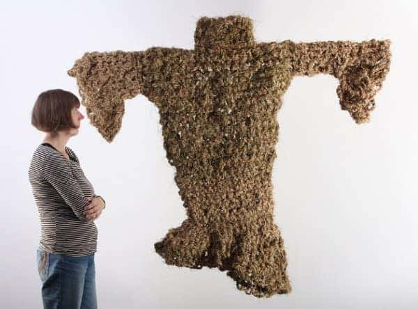Weaver of Grass 1 • Recycled Art