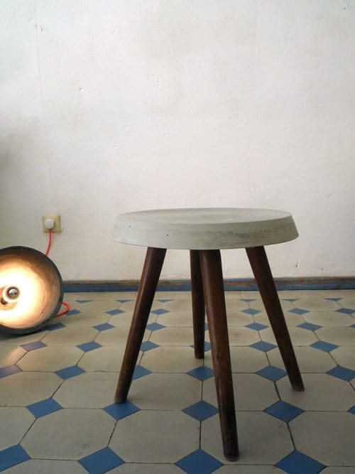 Refurbished Stool 1 • Recycled Furniture