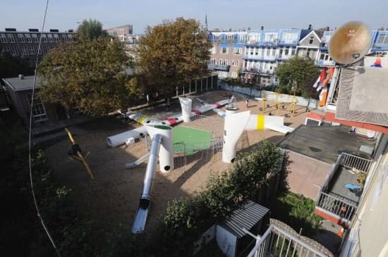 Playground with Used Windmill Parts 2 • Home Improvement