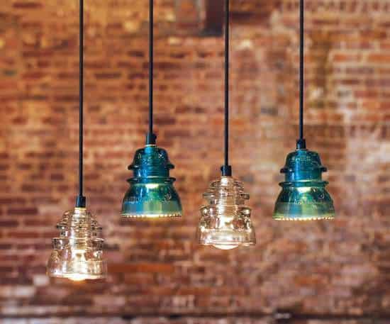 30+ Creative Ideas Using Vintage Glass Insulators 28 • Do-It-Yourself Ideas