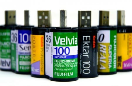 35mm Film Usb Flashdrive 1 • Recycled Electronic Waste
