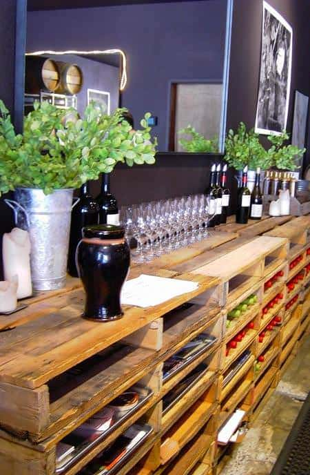 Pallet Shelving Bar 1 • Recycled Pallets