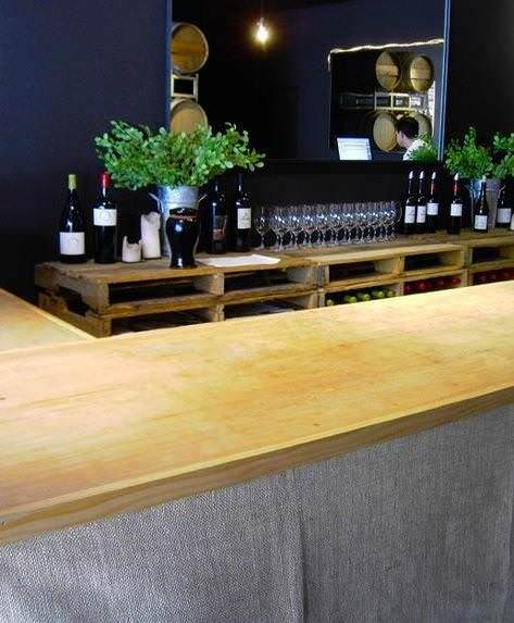 Pallet Shelving Bar 2 • Recycled Pallets