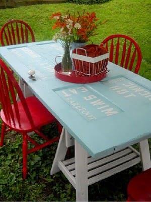 Door Table 1 • Do-It-Yourself Ideas