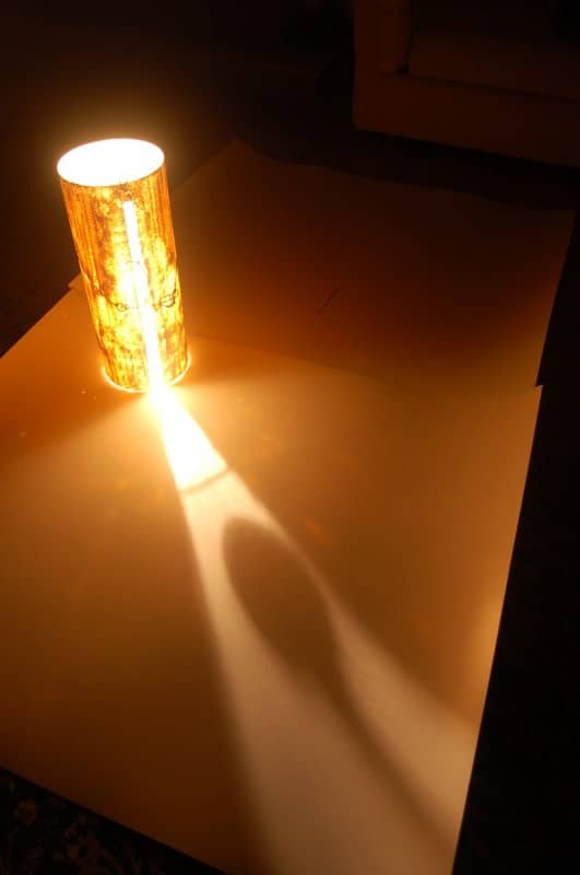 Fresco on Plexiglass 1 • Lamps & Lights