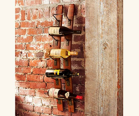 Reclaimed Oak Staves Into Wine Rack 1 • Recycled Pallets