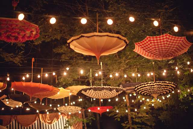 Upside down Umbrellas as Decoration ! 1 • Accessories