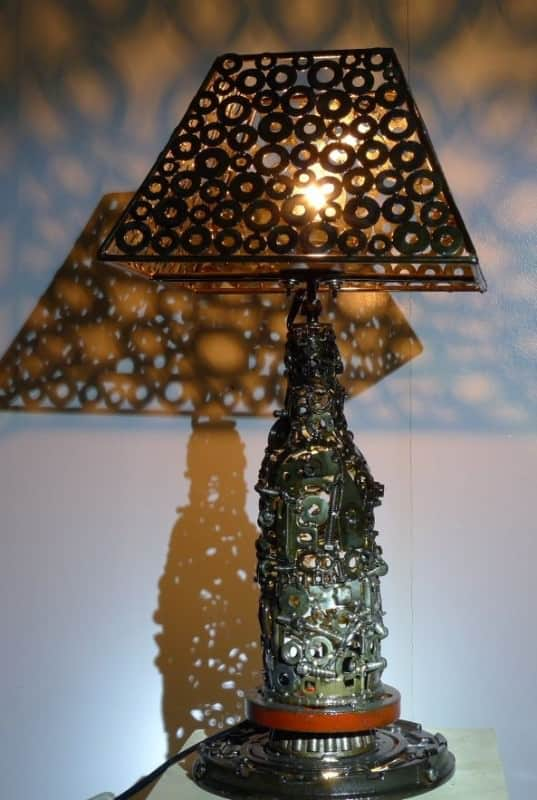 Artspawn Recyled Metal Art 3 • Recycled Art