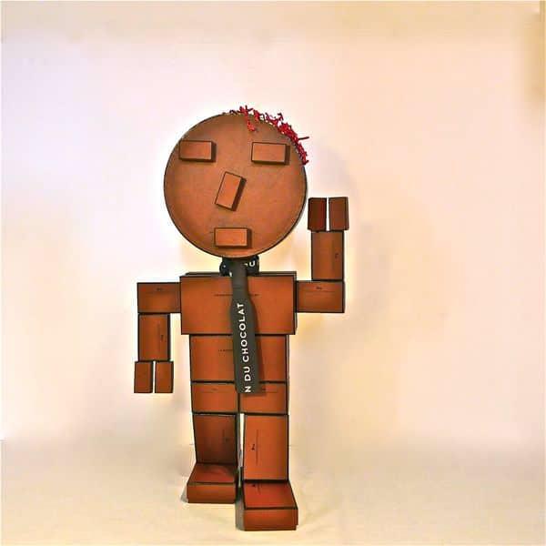 Chocorobox 1 • Recycled Cardboard