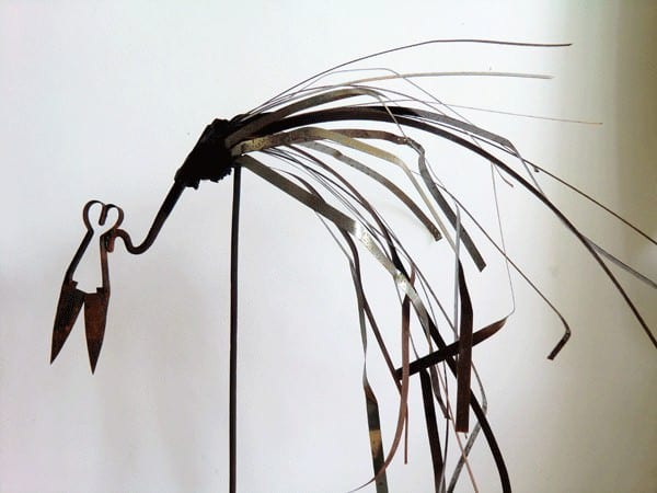 Lasart // Recycled Metal Sculpture 1 • Recycled Art