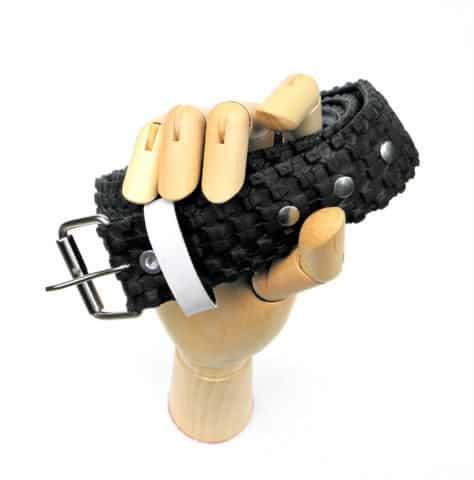 Recovered Bike Tire Belt 2 • Accessories