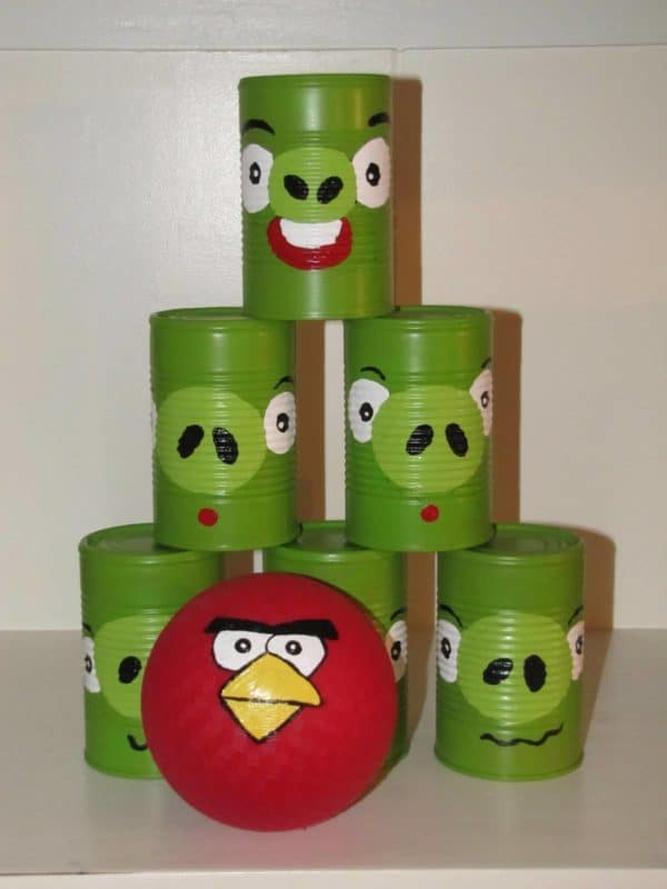 Diy : Angrybirds Can Toss Game 1 • Do-It-Yourself Ideas