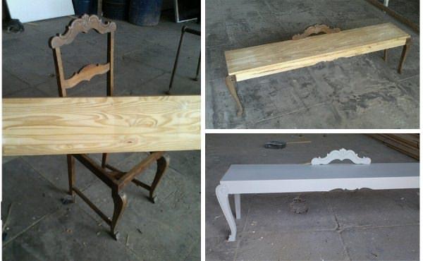 Vossos Caminhos 2 • Recycled Furniture
