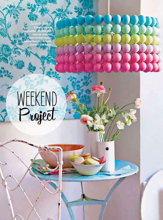 Diy: Ping Pong Ball Lampshade 1 • Do-It-Yourself Ideas