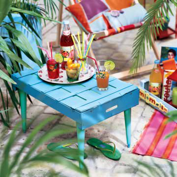 Diy : Crate --> Outdoor Coffe Table 1 • Do-It-Yourself Ideas