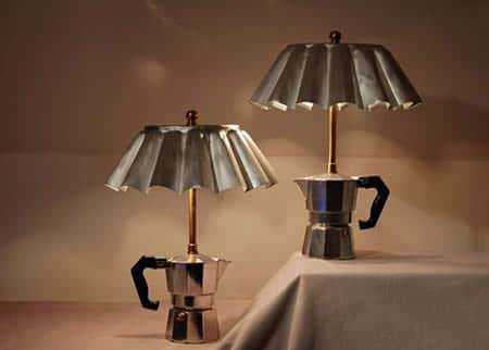 Coffee Maker Lamp 1 • Lamps & Lights