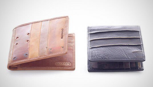 Old Baseball Gloves Upcycled Into Fashion Wallets 3 • Accessories