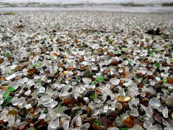 Glass Beach - California 2 • Interactive, Happening & Street Art
