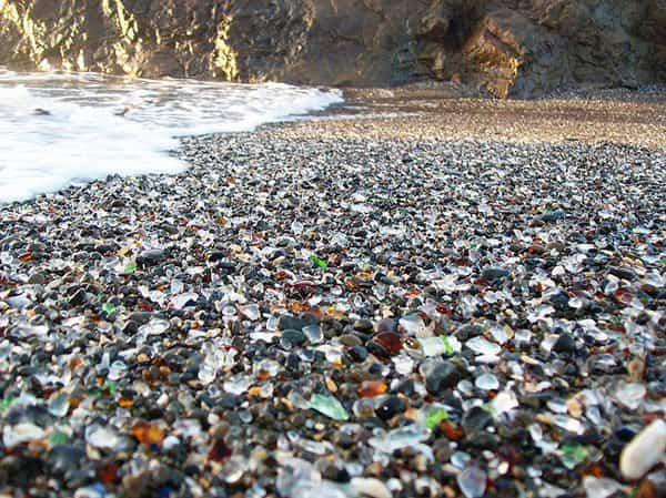 Glass Beach - California 1 • Interactive, Happening & Street Art
