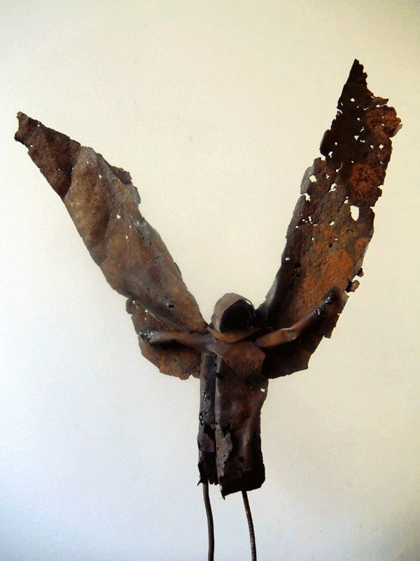 Lasart // Recycled Metal Sculpture 2 • Recycled Art