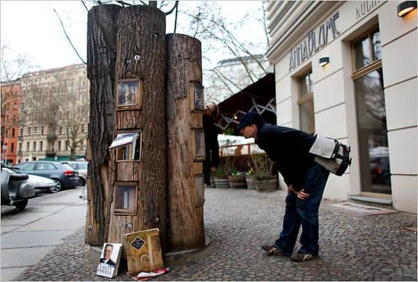 Book Forest Project 1 • Interactive, Happening & Street Art