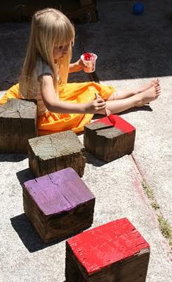 Diy: Giant Wooden Blocks 4 • Do-It-Yourself Ideas